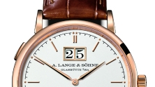 Watches Wonders- A. Lange Sohne Saxonia Automatic Outsize Date 1